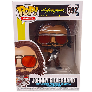 Cyberpunk 2077 - Johnny Silverhand with Guns Pop! Vinyl Figure