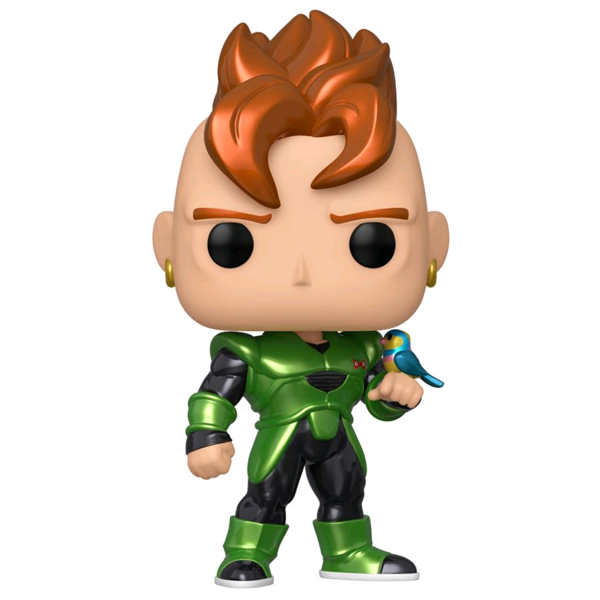 Dragon Ball Z - Android 16 Metallic US Exclusive Pop! Vinyl Figure