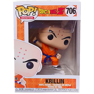 Dragon Ball Z - Krillin with Destructo Disc Pop! Vinyl Figure