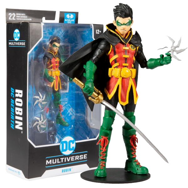 "Batman - Damien Wayne Robin DC Multiverse 7"" Action Figure"