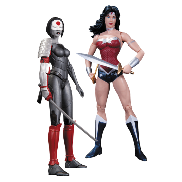 DC Comics - New 52 Wonder Woman vs Katana Action Figure 2-Pack