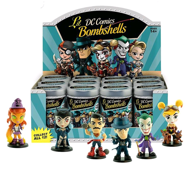 DC Bombshells - Lil' Bombshells Mini Figures Series 3 Blind Tin