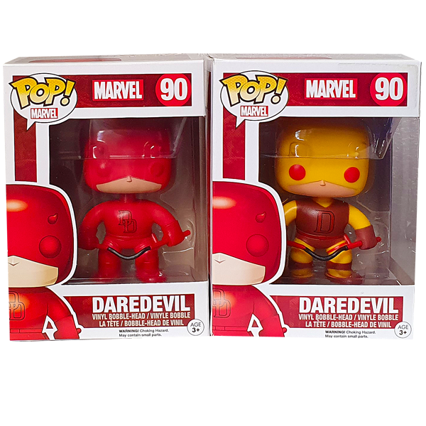 Marvel - Daredevil Exclusives Pop! Vinyl Figures Bundle