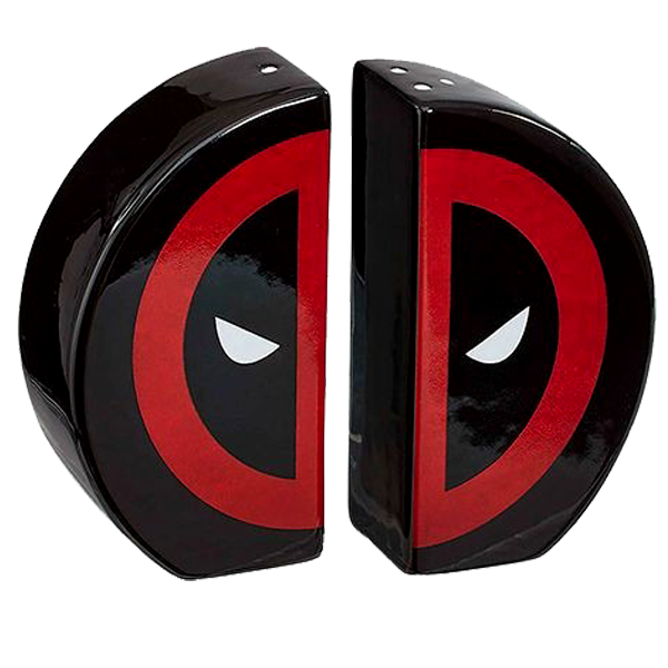 Deadpool - Salt and Pepper Shakers