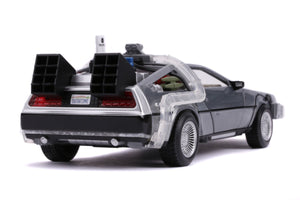 Back to the Future Part II - Delorean (Light Up) 1:24 Scale Die-Cast Car Replica
