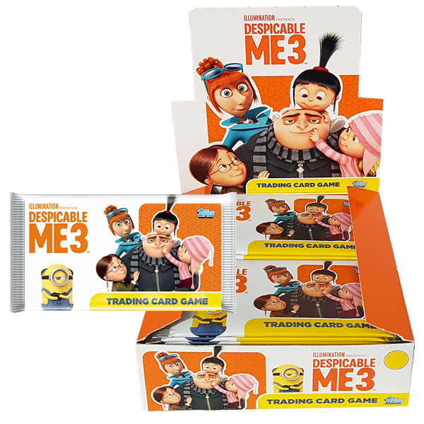 Despicable Me 3 - Trading Cards Booster Pack