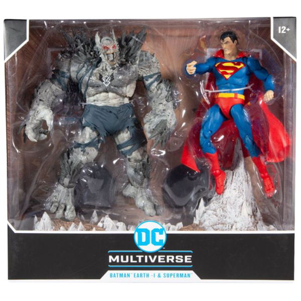 "Dark Nights: Metal - Batman Earth-1 The Devastator vs. Superman 7"" Scale Action Figure 2-Pack"