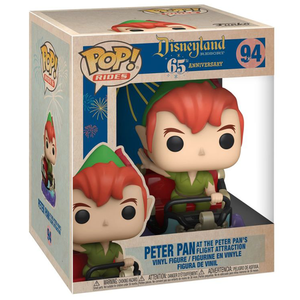 Disneyland 65th Anniversary - Peter Pan at the Peter Pan's Flight Attraction Pop! Rides Vinyl Figure