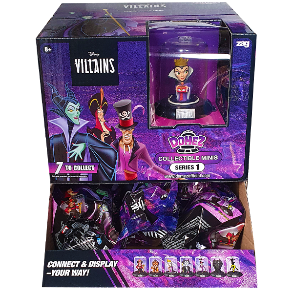 Disney - Disney Villains Series 1 Domez Blind Bag