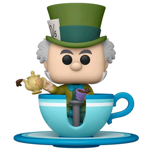 Disneyland 65th Anniversary - Mad Hatter at the Mad Tea Party Attraction US Exclusive Pop! Rides Vinyl Figure