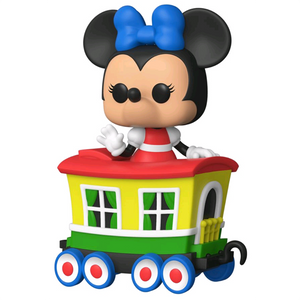 Disneyland 65th Anniversary - Minnie Mouse on the Casey Jr. Circus Train Attraction Pop! Train Vinyl Figure