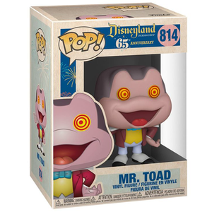 Disneyland 65th Anniversary - Mr. Toad with Spinning Eyes Pop! Vinyl Figure