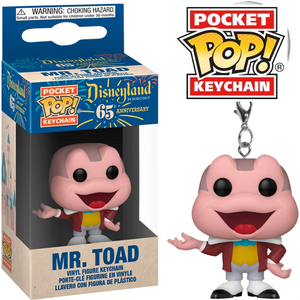Disneyland 65th Anniversary - Mr. Toad Pocket Pop! Keychain