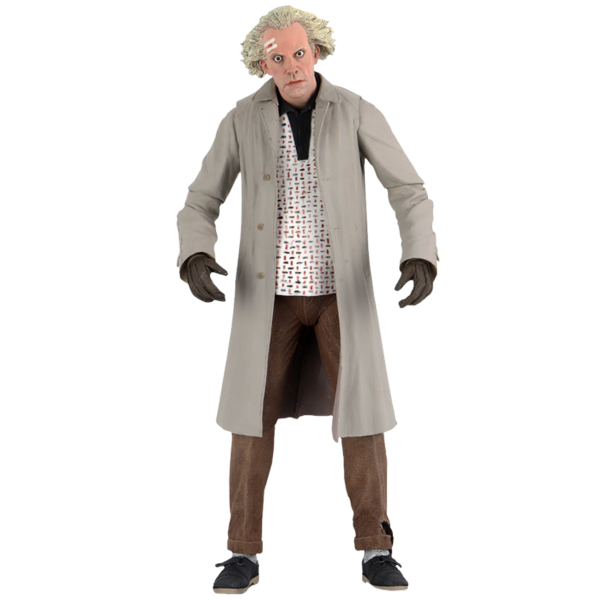 "Back to the Future - Doc Brown 1955 Ultimate 7"" Action Figure"