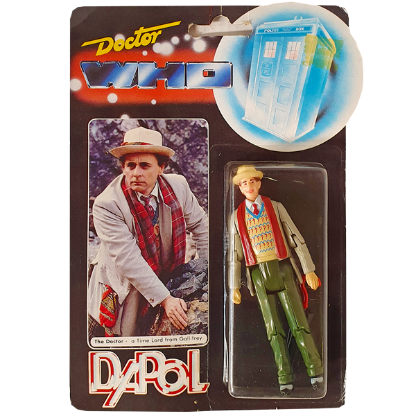Doctor Who - Seventh Doctor Vintage 1987 Action Figure