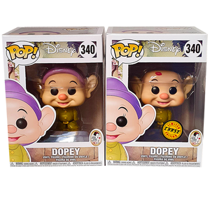 Disney - Dopey Chase Pop! Vinyl Figures Bundle