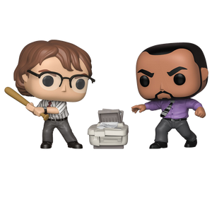 Office Space - Samir & Michael ECCC 2019 Exclusive Pop! Vinyl Figure 2-Pack