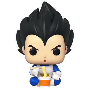 Dragon Ball Z - Vegeta (Eating Noodles) ECCC 2020 Exclusive Pop! Vinyl Figure