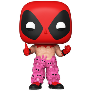 Deadpool - Deadpool with Teddy Pants ECCC 2021 Exclusive Pop! Vinyl Figure