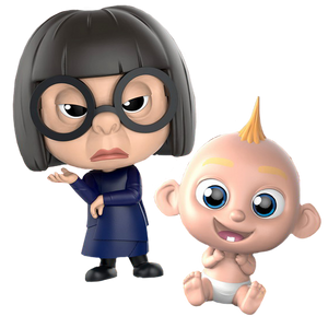 Incredibles 2 - Edna Mode & Jack-Jack Cosbaby Set
