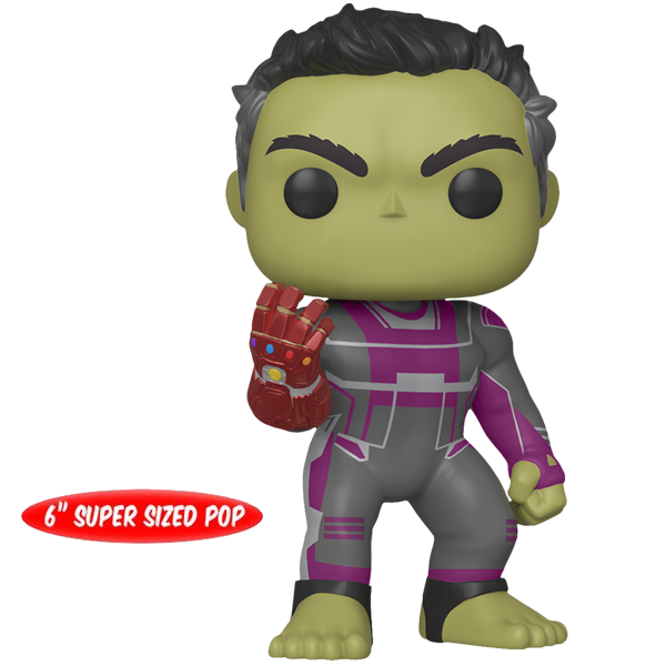 "Avengers Endgame - Hulk with Gauntlet 6"" Pop! Vinyl Figure"