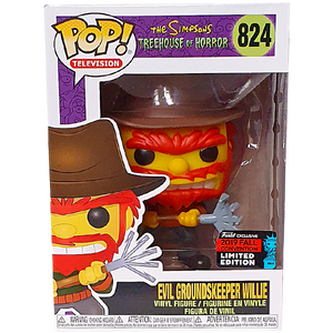 The Simpsons Treehouse of Horror - Evil Groundskeeper Willie NYCC 2019 Exclusive Pop! Vinyl Figure