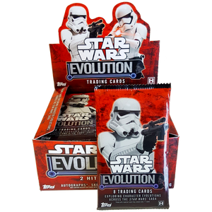 Star Wars - Evolution Hobby Collection Trading Cards - Booster Pack