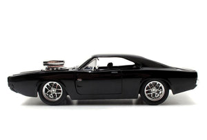 The Fast and The Furious - 1970 Dodge Charger 1:24 Scale Die-Cast Car Replica with Dom