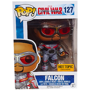 Captain America Civil War - Falcon Hot Topic Exclusive Pop! Vinyl Figure