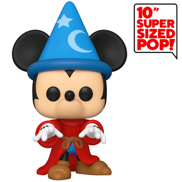 "Fantasia 80th Anniversary - Sorcerer Mickey 10"" US Exclusive Pop! Vinyl Figure"