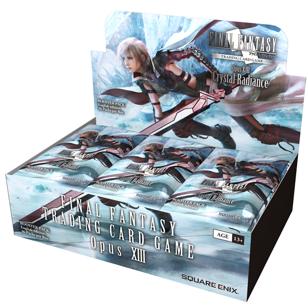 Final Fantasy TCG - Opus XIII Crystal Radiance - Booster Pack