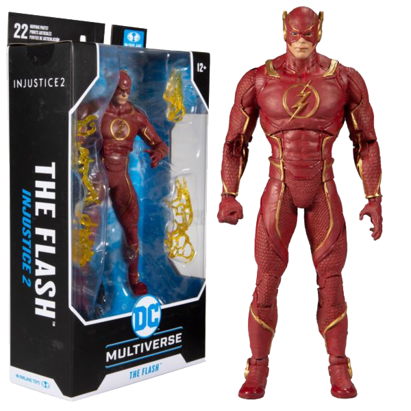 "Injustice 2 - The Flash DC Multiverse 7"" Action Figure"