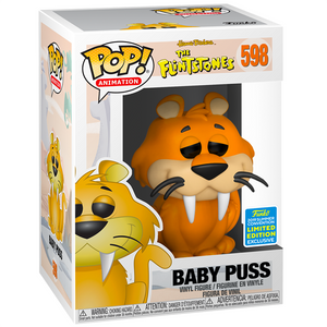 The Flintstones - Baby Puss SDCC 2019 Exclusive Pop! Vinyl Figure