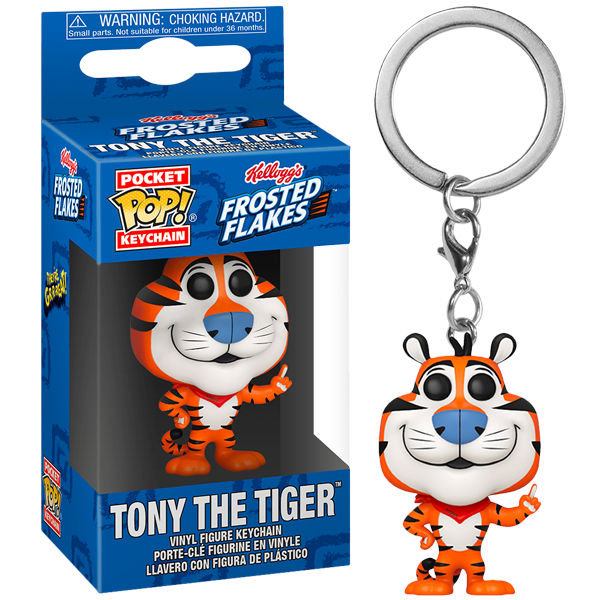Ad Icons Kellogg's - Tony the Tiger Pocket Pop! Keychain