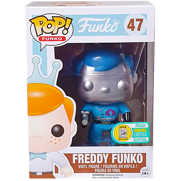 Funko - Freddy Funko Cobra Commander Pop! Vinyl Figure