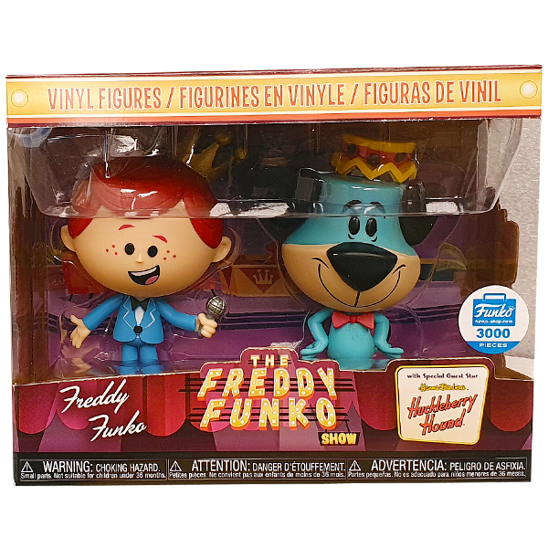The Freddy Funko Show - Freddy Funko & Huckleberry Hound Exclusive Vinyl Figure 2-Pack