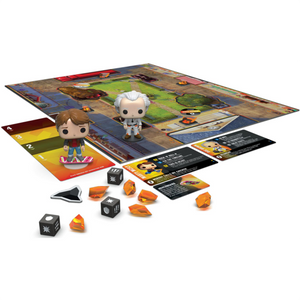 Back to the Future - Marty McFly & Doc Brown Pop! Funkoverse Strategy Board Game 2-Pack