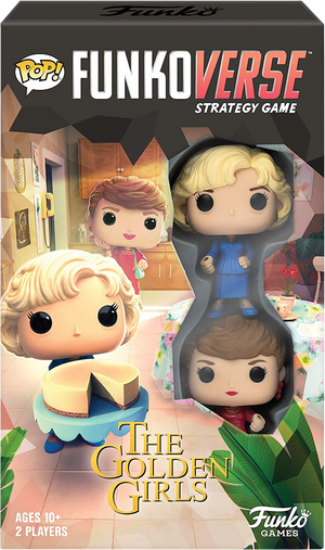 The Golden Girls - Blanche & Rose Pop! Funkoverse Strategy Board Game 2-Pack