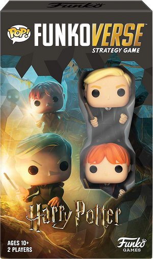 Harry Potter - Draco & Ron Pop! Funkoverse Strategy Board Game 2-Pack