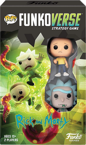 Rick and Morty - Rick & Morty Pop! Funkoverse Strategy Board Game 2-Pack