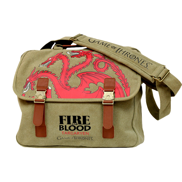 Game of Thrones - Targaryen Sigil Canvas Messenger Bag
