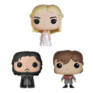 Game of Thrones - Jon Snow, Tyrion & Daenerys Pocket Pop! 3-Pack Tin