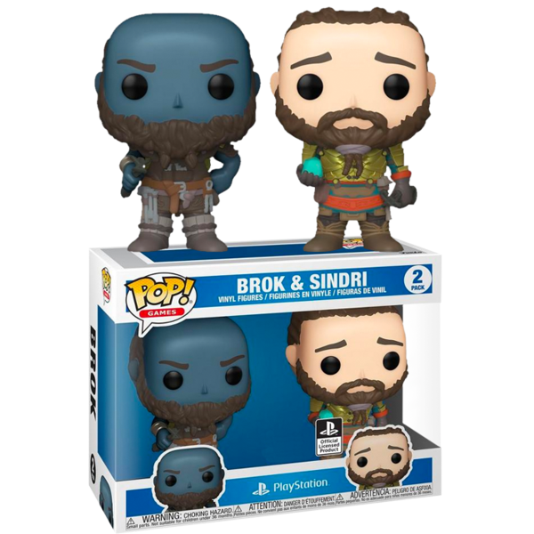 God of War - Brok & Sindri US Exclusive Pop! Vinyl Figure 2-Pack