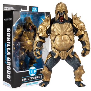 "Injustice 2 - Gorilla Grodd DC Multiverse 7"" Action Figure"