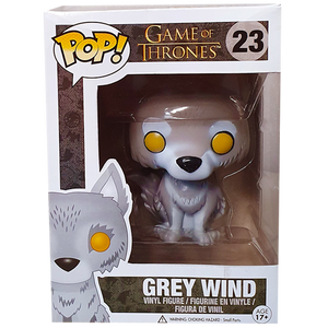 Game of Thrones - Grey Wind US Exclusive Pop! Vinyl Figure