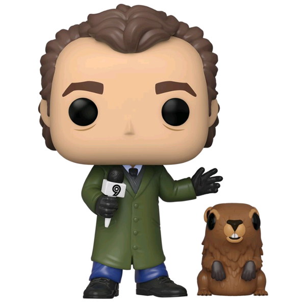 Groundhog Day - Phil Connors with Punxsutawney Phil Pop! Vinyl Figure