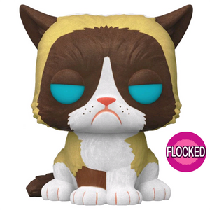 Icons - Grumpy Cat Flocked US Exclusive Pop! Vinyl Figure