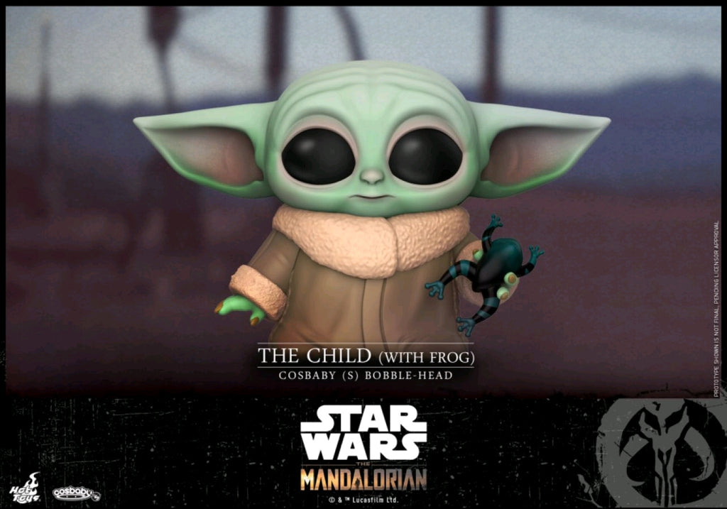 Star Wars The Mandalorian - The Child with Frog Cosbaby