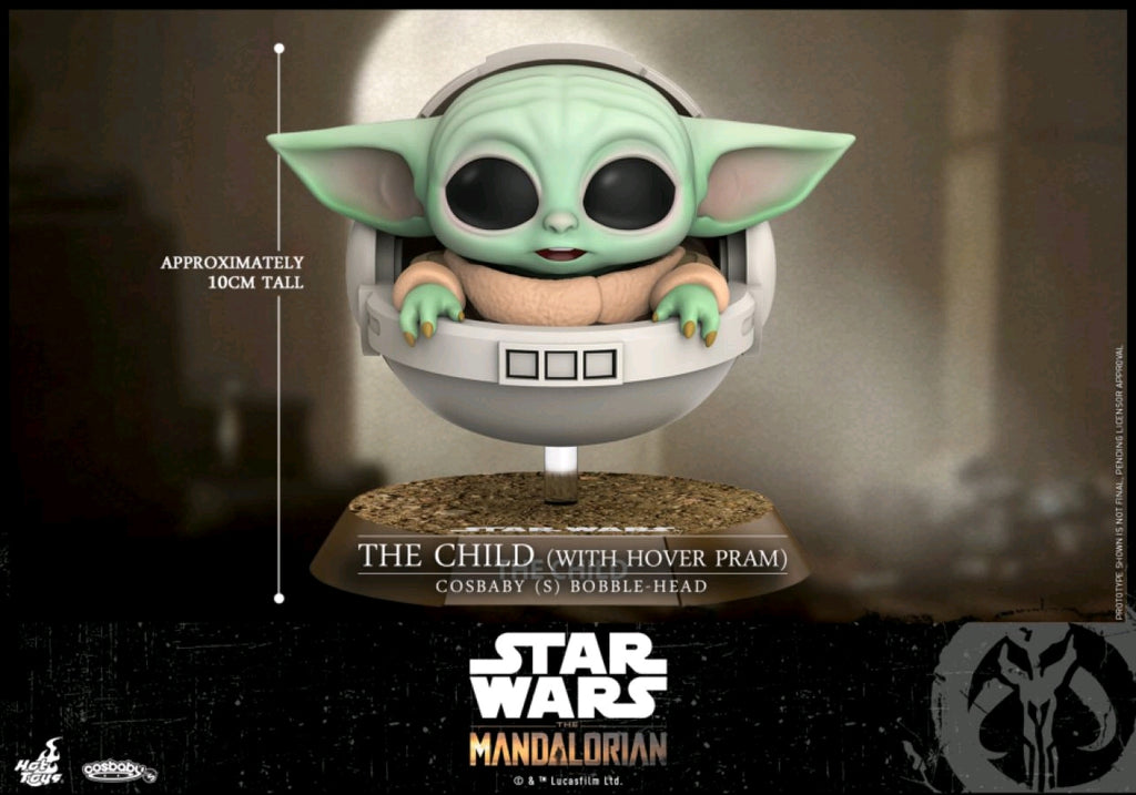 Star Wars The Mandalorian - The Child with Hover Pram Cosbaby