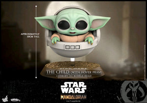 PRE-ORDER Star Wars The Mandalorian - The Child with Hover Pram Cosbaby - PRE-ORDER
